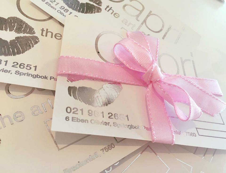 Capri Beauty gift voucher