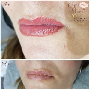 Capri Beauty Permanent Makeup lip tint