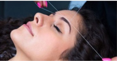 Capri Academy threading hair removal